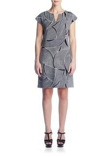 SUSANA MONACO Lana Patterned Shift Dress