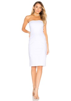 Susana Monaco Strapless Cut Out Dress