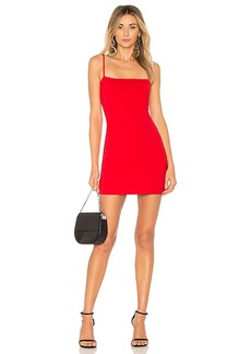 Susana Monaco Laurie Mini Dress in Red. - size S (also in XS)
