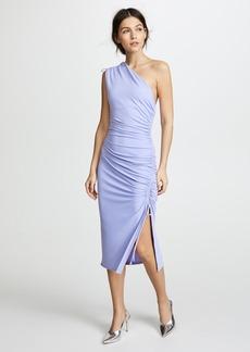 Susana Monaco Lillie Gathered One Shoulder Dress