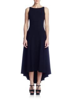 SUSANA MONACO Lorelei Open-Back Hi-Lo Dress