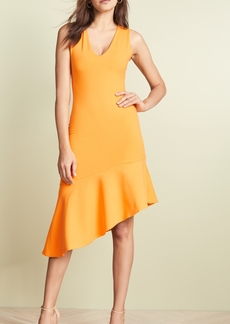 Susana Monaco Low Neck Flare Hem Dress