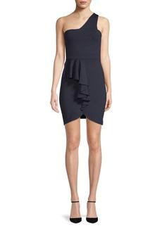 Susana Monaco Maggie One-Shoulder Bodycon Dress