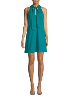 Susana Monaco Melanie Tie-Front Shift Dress