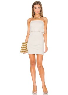 Susana Monaco Meredith Dress in Beige. - size L (also in M,S,XS)