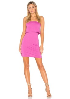 Susana Monaco Meredith Dress in Fuchsia. - size L (also in M,S,XS)