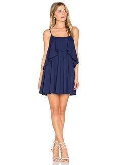 Susana Monaco Mini Dara Dress in Navy. - size M (also in S,L)