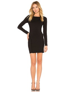 Susana Monaco Minnie Dress in Black. - size L (also in M,S,XS)