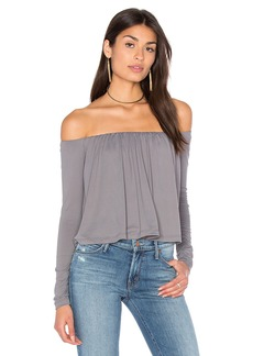 Susana Monaco Molly Off Shoulder Top