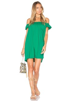 Susana Monaco Nini 16 Dress in Green. - size L (also in S,XS,M)