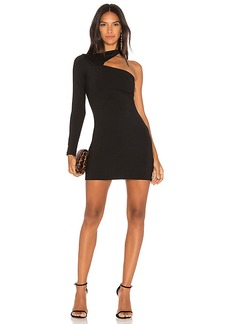 Susana Monaco Norah Dress in Black. - size L (also in M,S,XS)