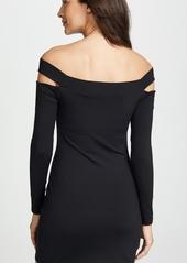 Susana Monaco Off the Shoulder Cutout Dress
