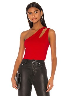 Susana Monaco One Shoulder Cut Out Tank