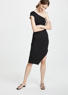 Susana Monaco One Shoulder Dress with Side Slit
