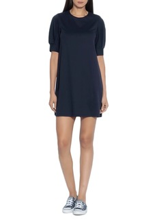 Susana Monaco Pleated Sleeve T-Shirt Dress