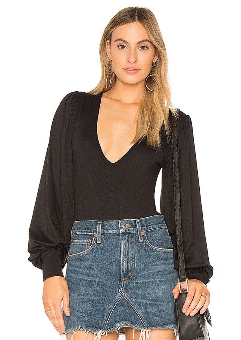 High Neck One Shoulder Top in Black. - size XS (also in L,M,S) Susana Monaco