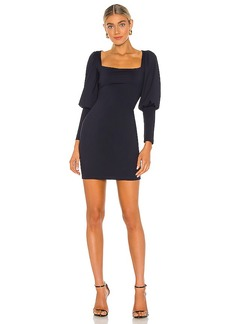 Susana Monaco Puff Sleeve Dress