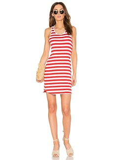 Susana Monaco Racer Dress in Red. - size L (also in S,M)