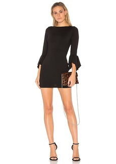 Susana Monaco Riley 16 Dress in Black. - size L (also in S,M)