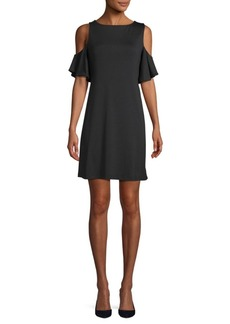 Susana Monaco Rosie Cold-Shoulder Dress