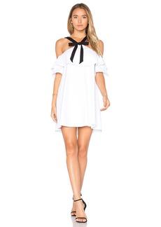 Susana Monaco Bow Cold Shoulder Dress