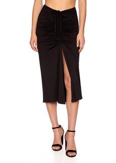 Susana Monaco Ruched Knit Skirt