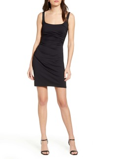 Susana Monaco Ruched Tank Minidress