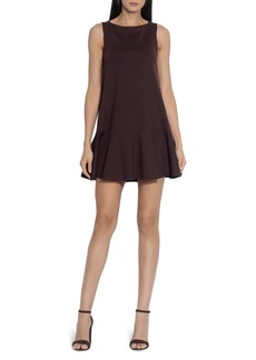 Susana Monaco Ruffle A-Line Dress