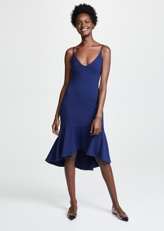 Susana Monaco Ruffle Hem Dress