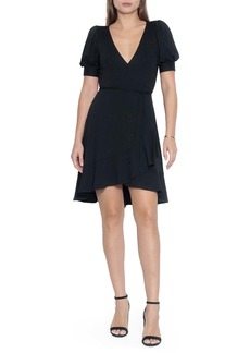 Susana Monaco Ruffle Wrap Dress