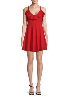 Susana Monaco Ruffled Sleeveless Dress