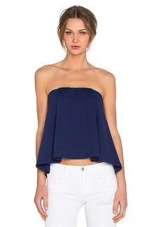 Susana Monaco Sabrina Top in Navy. - size L (also in S,XS)