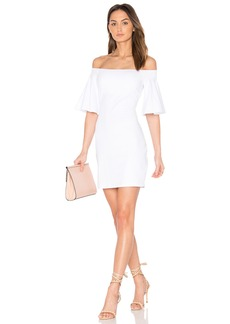 Susana Monaco Flutter Sleeve Dress