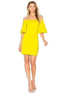 Susana Monaco Sasha Dress in Yellow. - size L (also in M,S,XS)