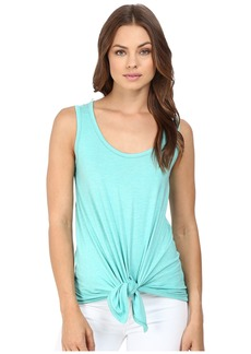 Susana Monaco Scoop Tie Tank Top