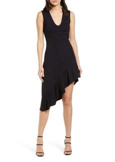 Susana Monaco Sleeveless Asymmetrical Dress