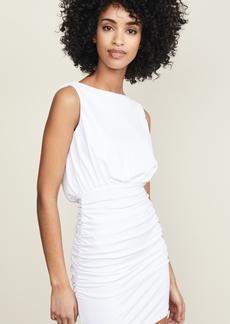 Susana Monaco Sleeveless Cowl Mini Dress