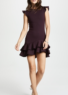 Susana Monaco Sleeveless Ruffle Hem Dress