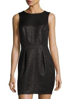 Susana Monaco Sleeveless Shimmery Jacquard Dress