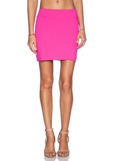 Susana Monaco Slim Mini Skirt in Pink. - size M (also in L,S,XS)