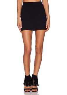 Susana Monaco Slim Skirt in Black. - size L (also in M,S,XS)