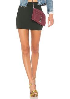 Susana Monaco Slim Skirt in Green. - size L (also in S,XS)