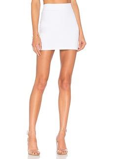 Susana Monaco Slim Skirt in White. - size M (also in S)