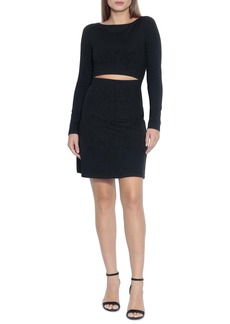 Susana Monaco Slit Fit & Flare Dress