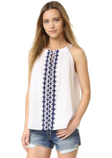 Susana Monaco Sunny Embroidered Top