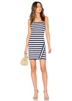 Susana Monaco Tera Dress in Navy. - size L (also in M,S,XS)