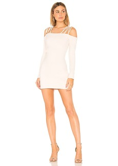 Susana Monaco Laced Off Shoulder Dress