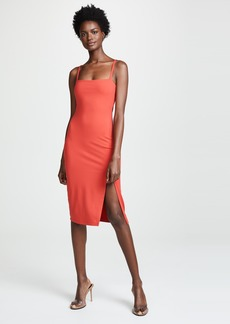 Susana Monaco Thin Strap Slit Dress