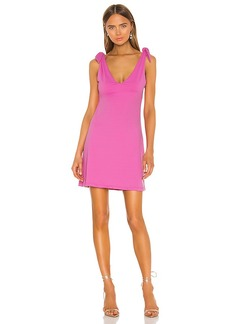 Susana Monaco Tie Shoulder A Line Dress