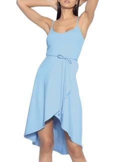 Susana Monaco Tie Waist Sleeveless Dress